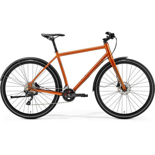 """77825-19 Merida crossway URBAN 500 28"""" férfi cross trekking kerékpár 2019  fényes réz (fényvisszaverő barna)"""